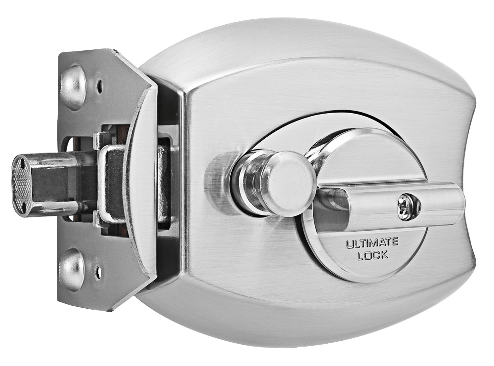 ultimate lock satin nickel